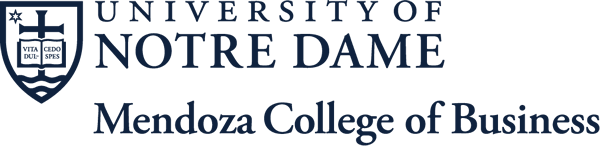University of Notre Dame: Mendoza College of Business